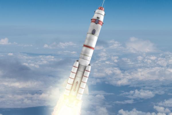 ロケット製造のための精密な離形布